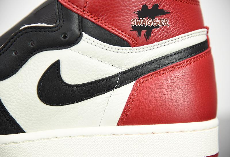 Giày Nike Air Jordan 1 Bred Toe Pk God Factory full box và phụ kiện chất lượng tốt nhất hiện nay