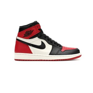 Giày Nike Air Jordan 1 Bred Toe Pk God Factory