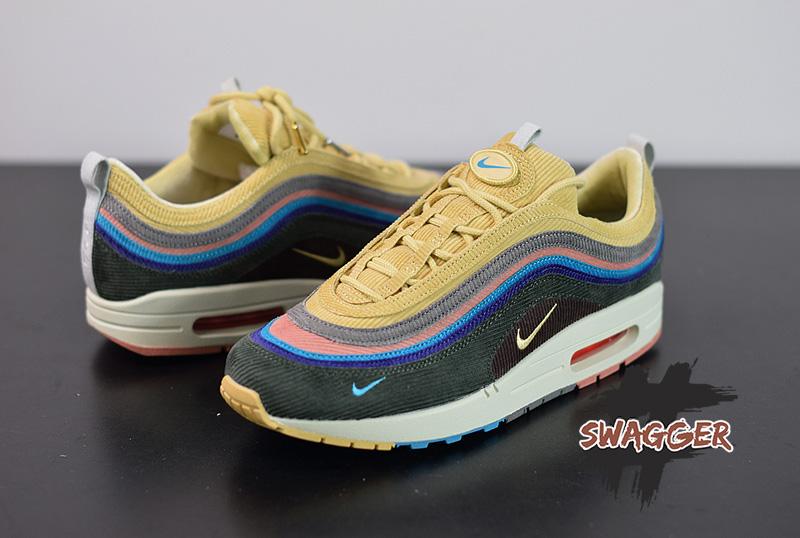 Giày Nike Air Max 1/97 Sean Wotherspoon Pk God Factory chuẩn 99.9% so với chính hãng fulll box và phụ kiện