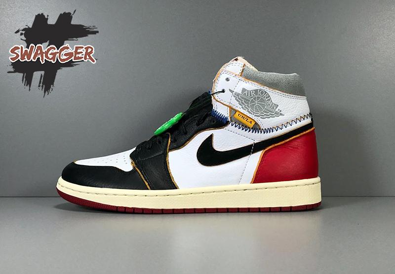 Giày Nike Jordan 1 Union Los Angeles Black Toe Pk God Factory chuẩn 99.9% full box và phụ kiện