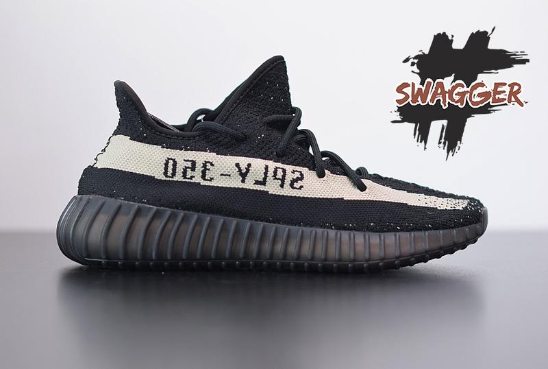 Giày Adidas Yeezy 350 V2 Oreo Pk God Factory chất lườn tương đương chính hãng, full box và phụ kiện
