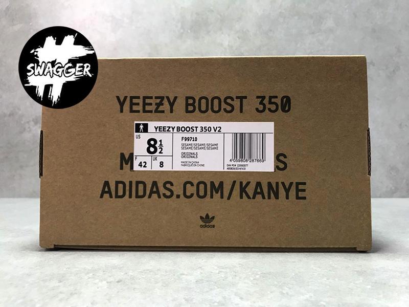 Giày Adidas Yeezy 350 V2 Sesame Pk God Factory chuẩn 99.9% sử dụng chất liệu chính hãng