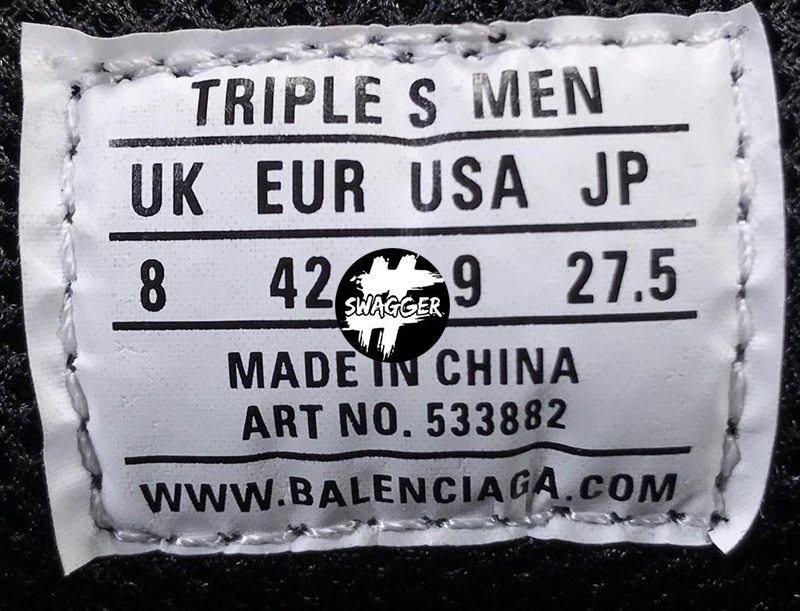 Giày Balenciaga Triple S Full Black Plus Y Factory chuẩn 99.9% chất lượng số 1 hiện nay