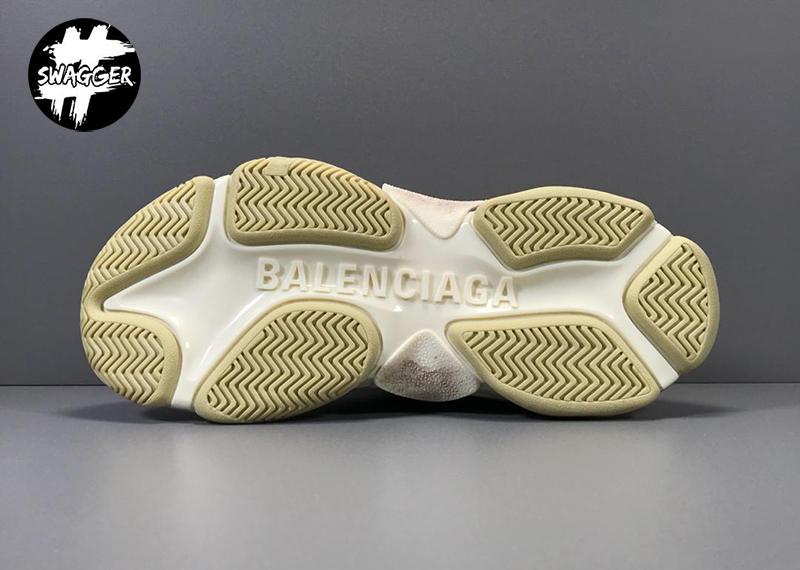 Giày Balenciaga Triple S Black White Plus Y Factory chuẩn 99.9% là chất lượng tốt nhất hiện nay