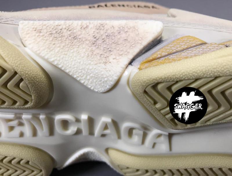 Giày Balenciaga Triple S Blue Plus Y Factory chuẩn 99.9% chất lượng tốt nhất hiện nay, full box và phụ kiện