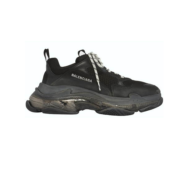 Giày Balenciaga Triple S Clear Full Black Plus Y factory