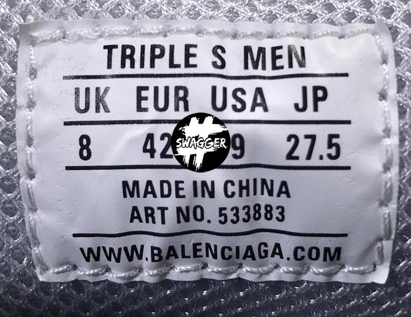 Giày Balenciaga Triple S Red Blue Plus Y Factory chuẩn 99.9% chất lượng tốt nhất hiện nay, full box và phụ kiện