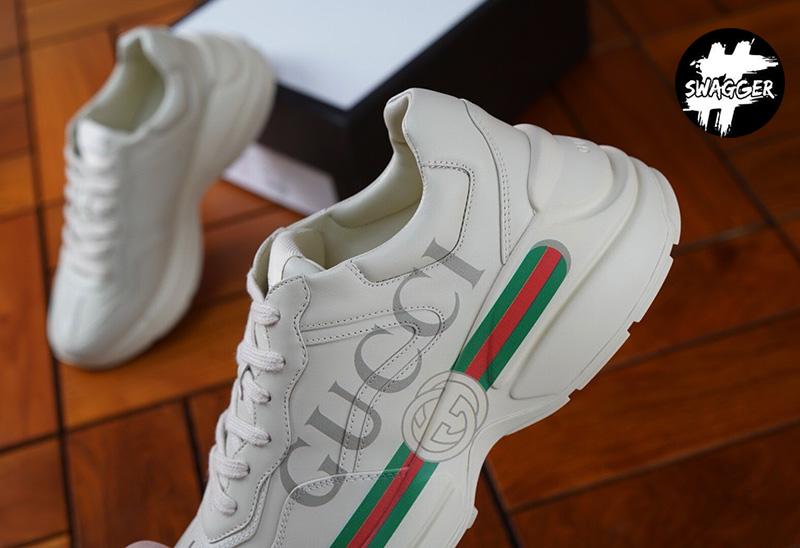 Giày Gucci Rhyton Logo Sneaker Like Auth chuẩn 99.9% so với chính hãng. chất lượng tương đương hãng, full box và phụ kiện có chíp trong tem