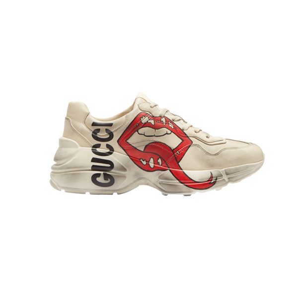 Giày Gucci Rhyton Mouth On Feet Like Auth