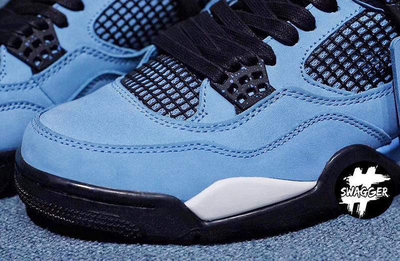 Giày Nike Air Jordan 4 Travis Scott Pk God Factory chuẩn 99.9% chất lượng tốt nhất hiện nay tương đương với hãng