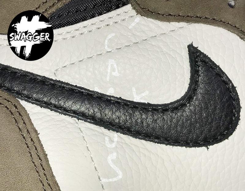 Giày Nike Air Jordan 1 Travis Scott Pk God Factory bản chuẩn nhất hiện nay chuẩn 99.9% full box và phụ kiện