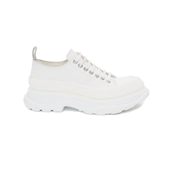 Giày Alexander Mcqueen Chunky Sole Low White Like Auth