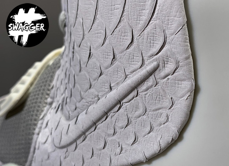 Giày Nike Air Yeezy 2 Pure Platinum Like Auth 3