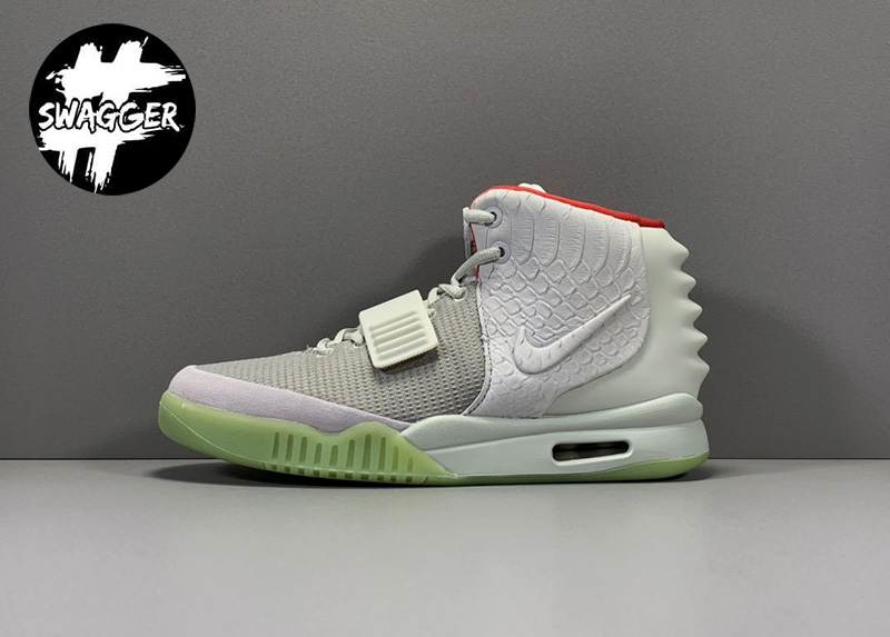Giày Nike Air Yeezy 2 Pure Platinum Like Auth 1