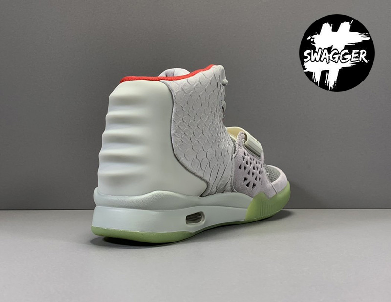 Giày Nike Air Yeezy 2 Pure Platinum Like Auth 13