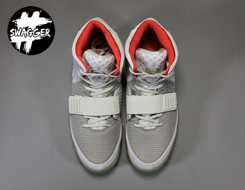 Giày Nike Air Yeezy 2 Pure Platinum Like Auth 12