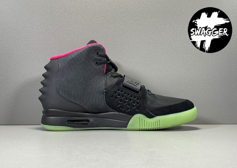 Giày Nike Air Yeezy 2 Solar Red Like Auth 2