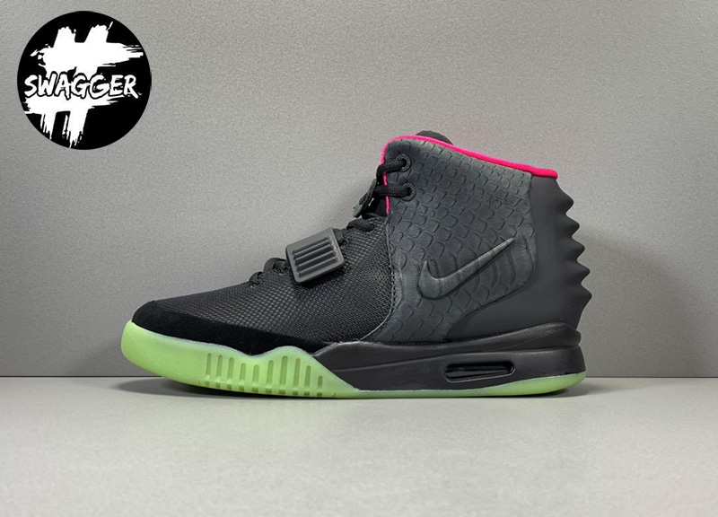 Giày Nike Air Yeezy 2 Solar Red Like Auth 1