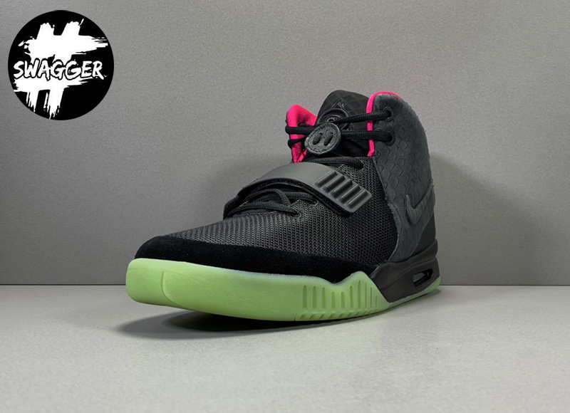 Giày Nike Air Yeezy 2 Solar Red Like Auth 16