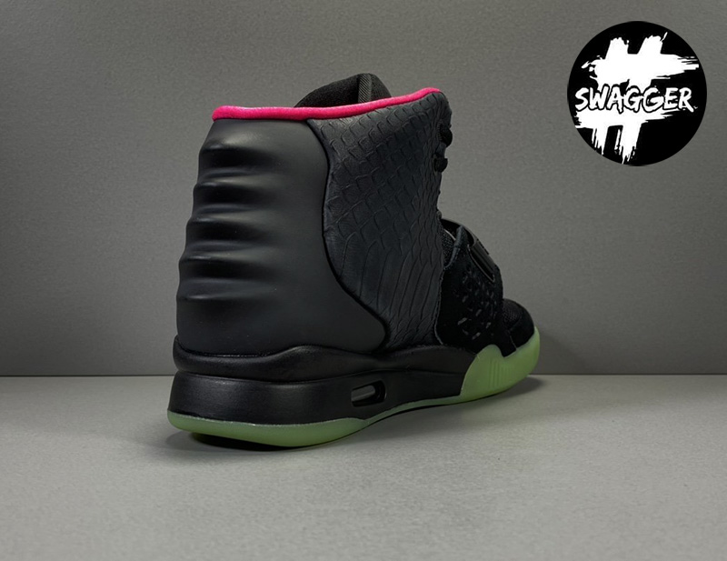 Giày Nike Air Yeezy 2 Solar Red Like Auth 15