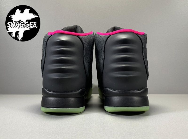 Giày Nike Air Yeezy 2 Solar Red Like Auth 14
