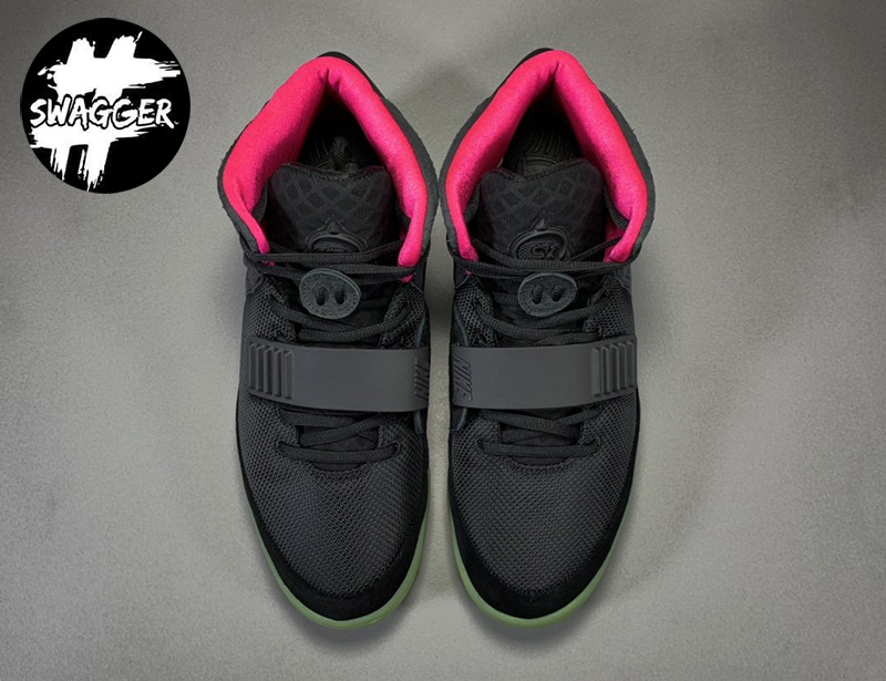 Giày Nike Air Yeezy 2 Solar Red Like Auth 13