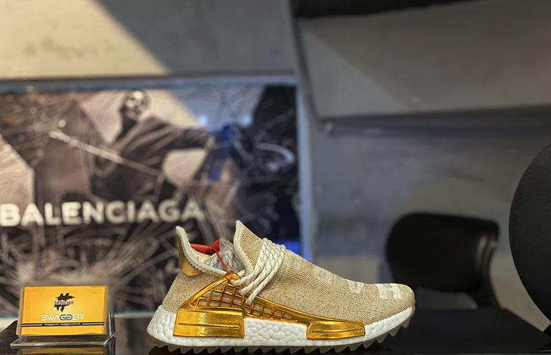Giày Adidas NMD HU China Pack Happy Gold