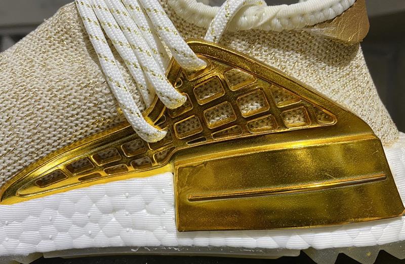 Giày Adidas NMD HU China Pack Happy Gold Replica 1:1 3