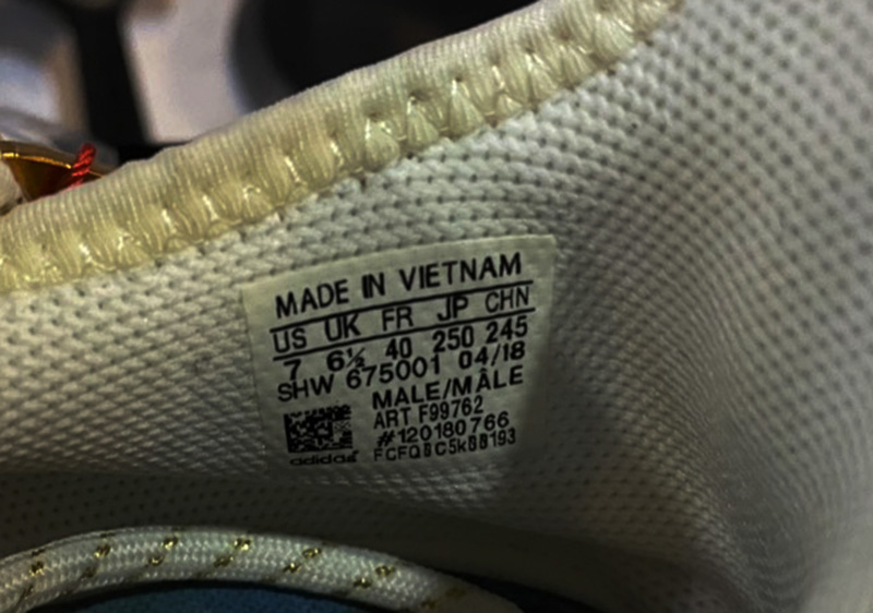 Giày Adidas NMD HU China Pack Happy Gold Replica 1:1 5