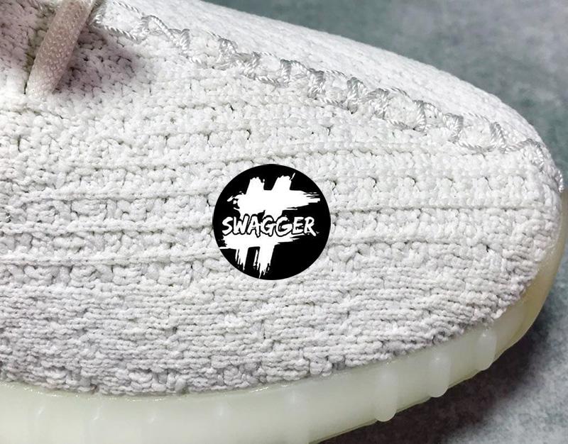 Giày Adidas Yeezy Boost 350 V2 Cream/Triple White Pk God Factory 14