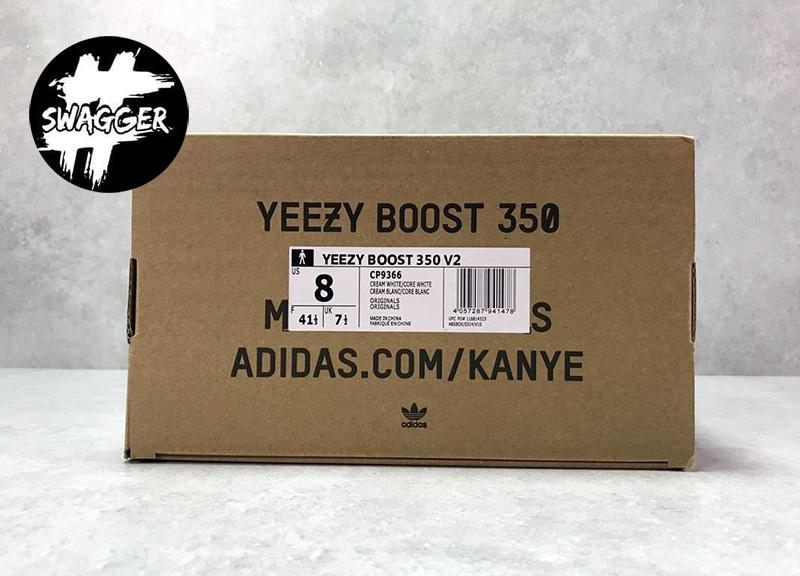 Giày Adidas Yeezy Boost 350 V2 Cream/Triple White Pk God Factory 15