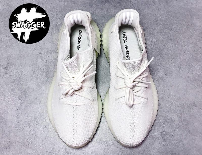 Giày Adidas Yeezy Boost 350 V2 Cream/Triple White Pk God Factory 5
