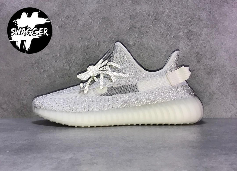 Giày Adidas Yeezy 350 V2 Static Pk God Factory 1