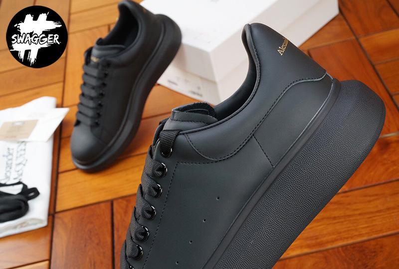 Giày Alexander Mcqueen Full Black Like Auth chuẩn 99.9% full box và phụ kiện