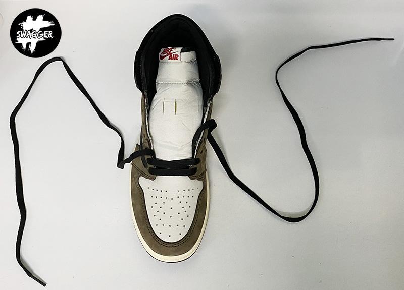 Cách thắt Dây Giày Nike Jordan 1 Đơn Giản Đẹp 4