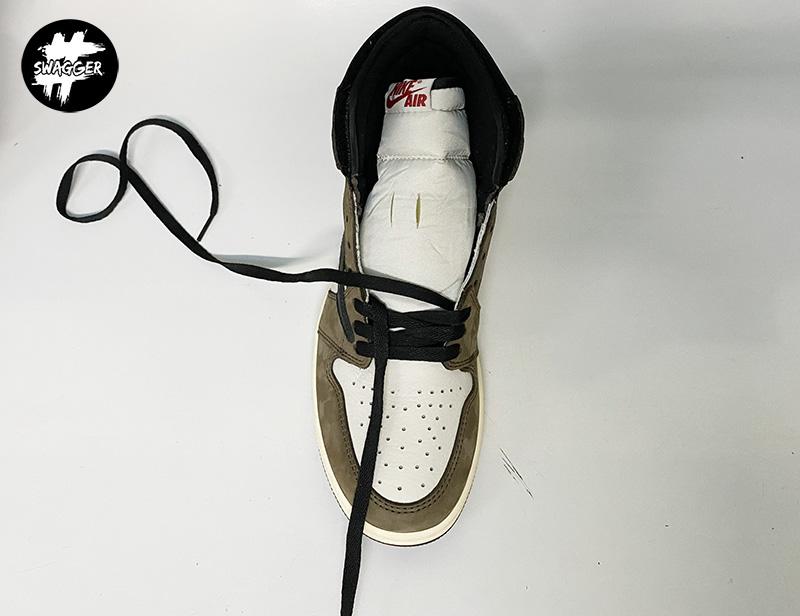 Cách thắt Dây Giày Nike Jordan 1 Đơn Giản Đẹp 6