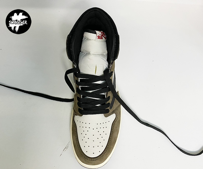 Cách thắt Dây Giày Nike Jordan 1 Đơn Giản Đẹp 7