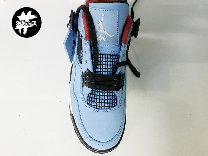 Cách thắt Dây Giày Nike Jordan 1 Đơn Giản Đẹp 11