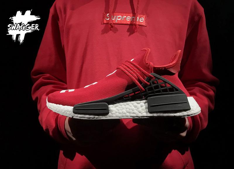 Giày Adidas NMD Human Race Red Replica 1:1 chất lượng cao cấp boost ép cao cấp