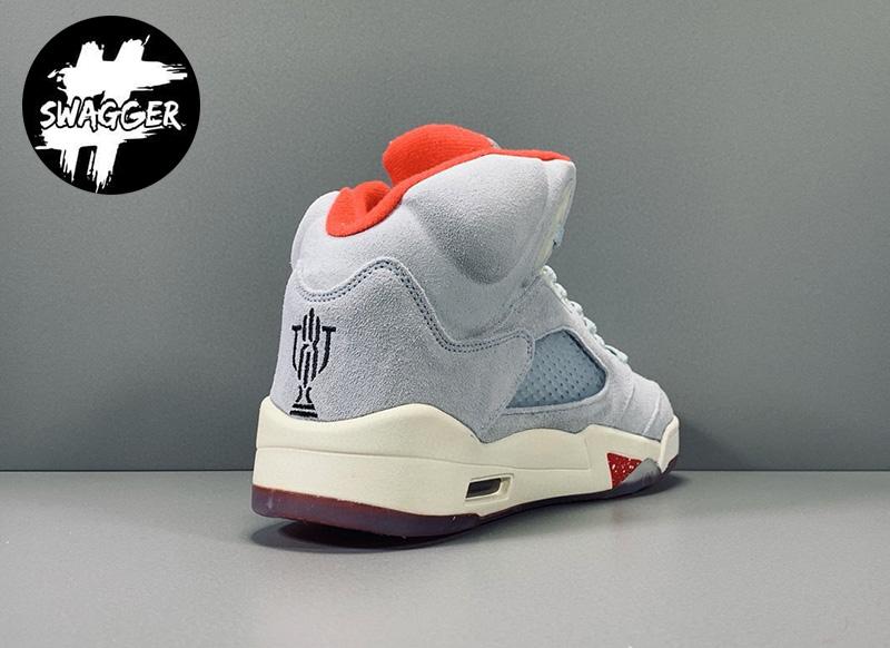 Giày Nike Air Jordan 5 Retro Trophy Room Ice Blue Pk God Factory 3