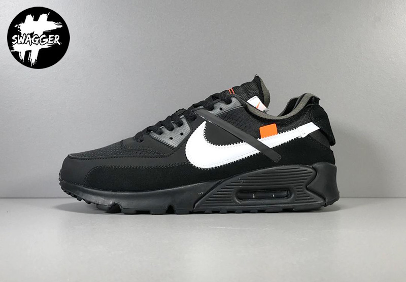 Giày Nike Air Max 90 Off White Black Pk God Factory 1