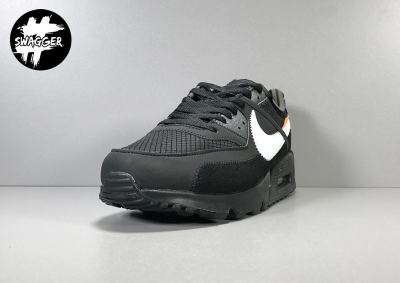 Giày Nike Air Max 90 Off White Black Pk God Factory 5