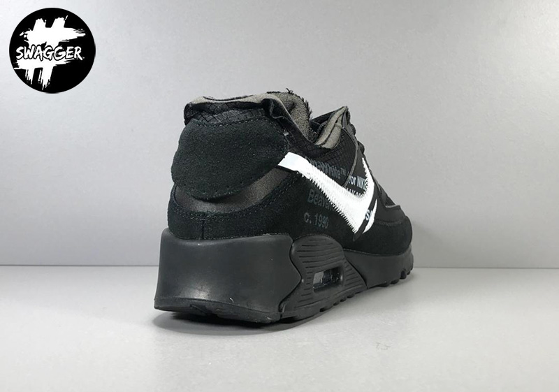Giày Nike Air Max 90 Off White Black Pk God Factory 6