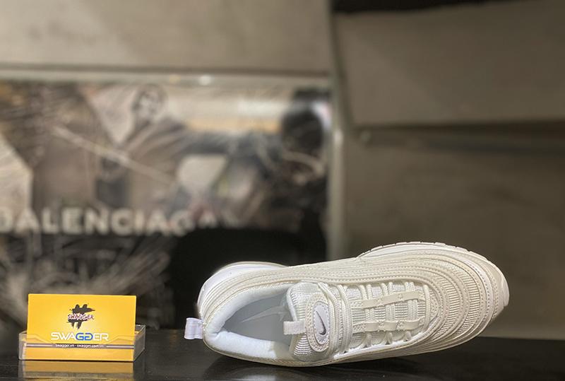 Giày Nike Air Max 97 Full White Phản Quang Replica 1:1 bản chuẩn nhất hiện nay