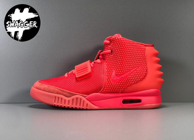Giày Nike Air Yeezy 2 Red October Like Auth 1
