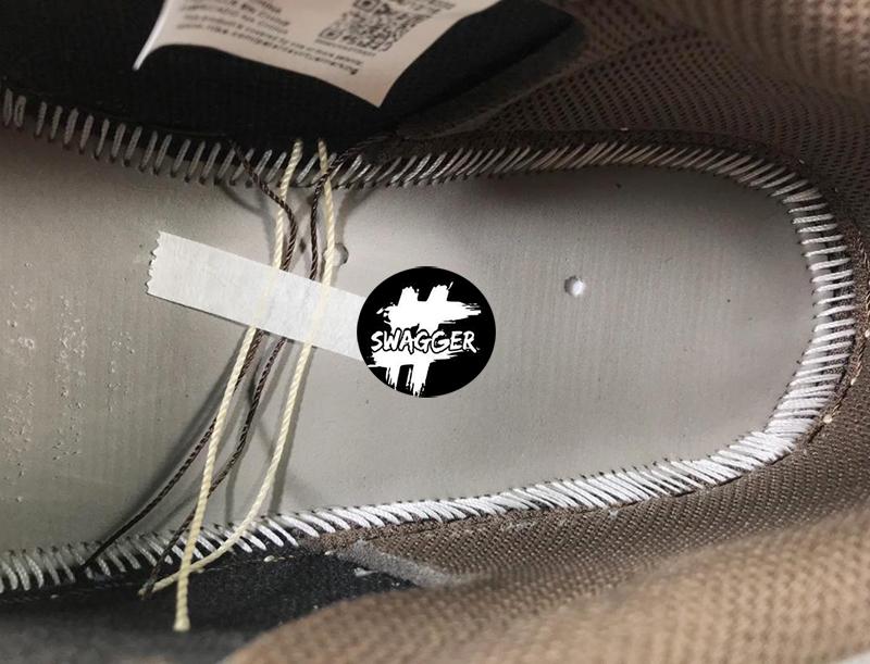 Giày Nike Jordan 1 Low Travis Scott Pk God Factory chuẩn 99.9% sử dụng chất liệu tương đương hãng