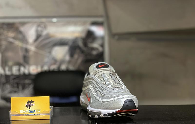 Giày Nike Air Max 97 Bạc Phản Quang Replica 1:1 bản tốt nhất hiện nay, full box và phụ kiện