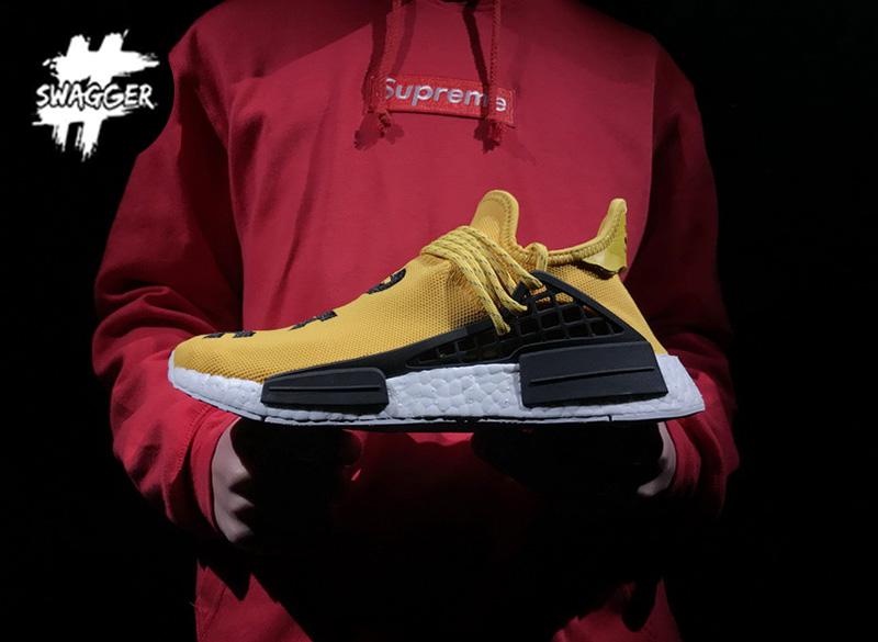 Giày Adidas NMD Human Race Yellow 1
