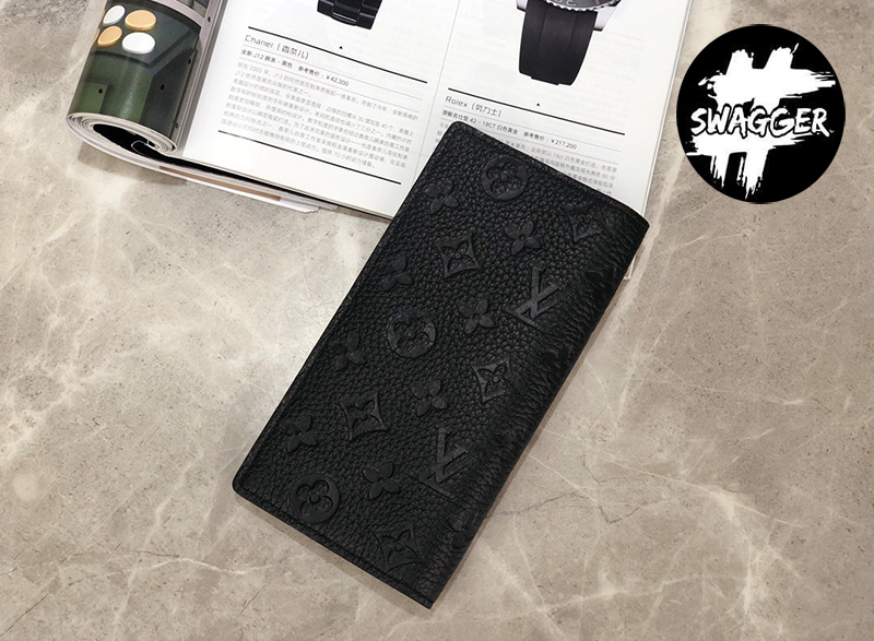 Ví Nam Louis Vuitton Brazza Taurillon Like Auth 4
