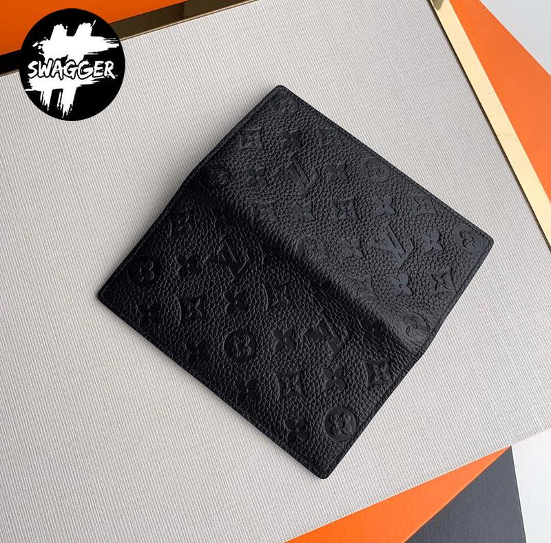 Ví Nam Louis Vuitton Brazza Taurillon Like Auth 5